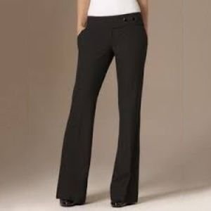 The Limited Drew fit bootcut black pants 4 Long